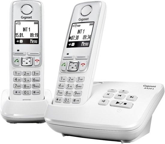 T�l�phone GSM SIEMENS A420A BLANC DUO AVEC REPONDEUR