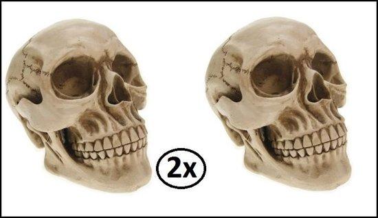 2x Doodshoofd 20cm