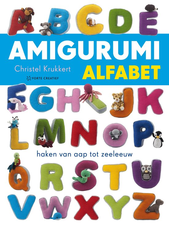 Bolcom Amigurumi Alfabet Forte Creatief Speelgoed