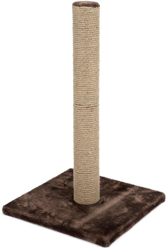 Beeztees Lesley - Krabpaal - Bruin - 35x35x60 cm
