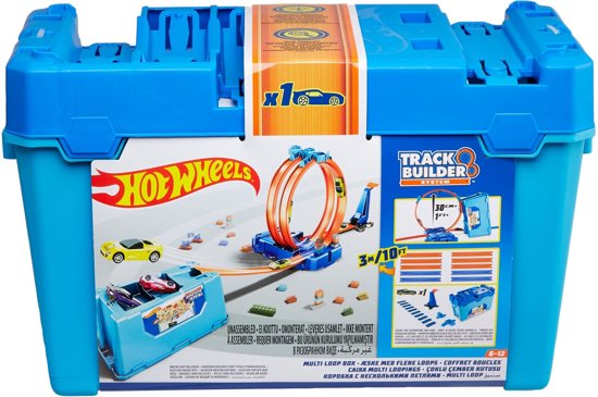 Goede bol.com | Hot Wheels Track Builder Looping Challenge - Racebaan ZJ-78