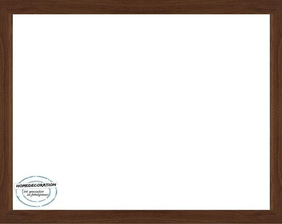 Homedecoration Misano – Fotolijst – Fotomaat – 52 x 57 cm  – Marone Bicolor