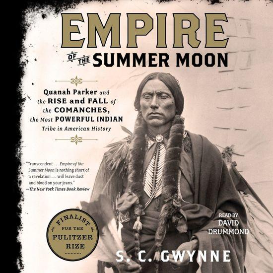 Boek cover Empire of the Summer Moon van S. C. Gwynne (Onbekend)