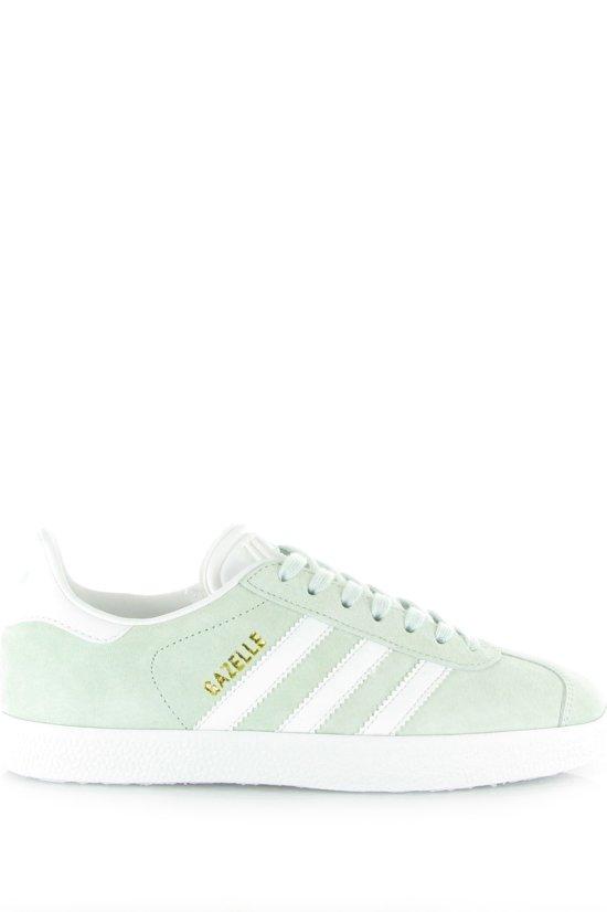 adidas gazelle wit met groen