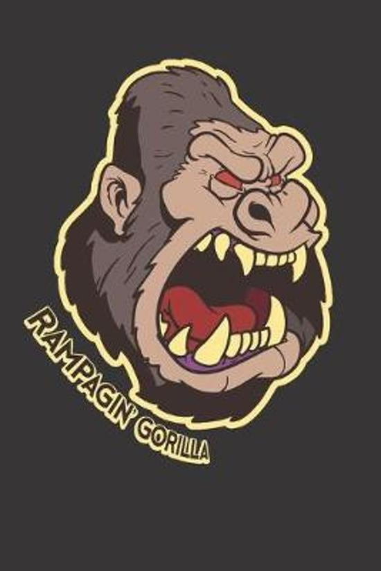 Gorilla Notebook Journal: Gorilla Notebook Journal Gift College Ruled 6 x 9 120 Pages