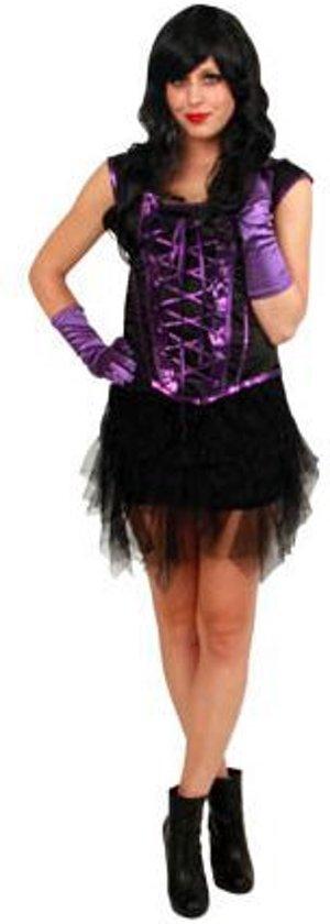 a9bd8b13b9184b Middeleeuws corset zwart-paars