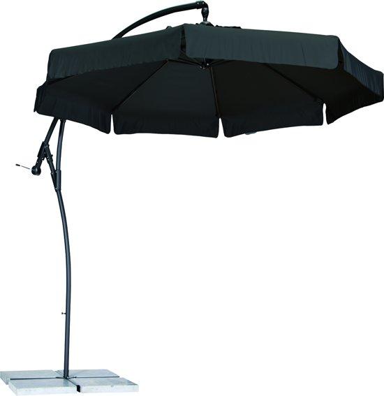 Zweefparasol Zwart Vierkant.Bol Com Madison Parasol Samos Vierkant 250x250 Cm Zwart