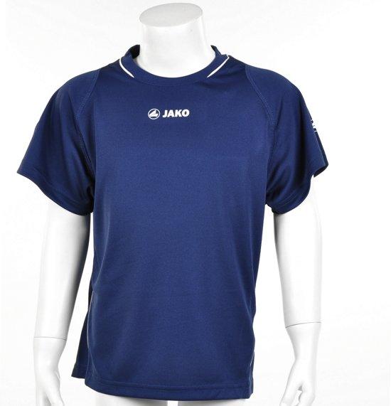 Jako Shirt Fire KM - Sportshirt - Kinderen - Maat 164 - Navy