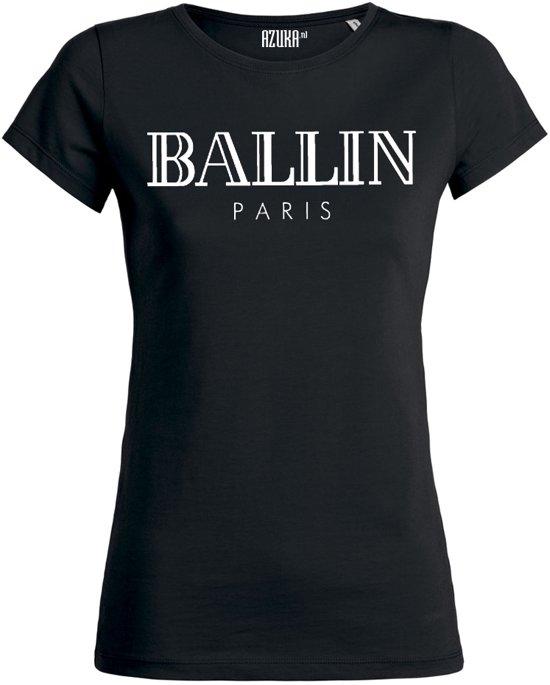 30bb5540eb6 Ballin - Dames Shirt Ronde Hals
