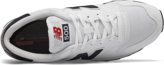 Maat White 5 Balance New Heren 500 41 Sneakers 6XAwPCx