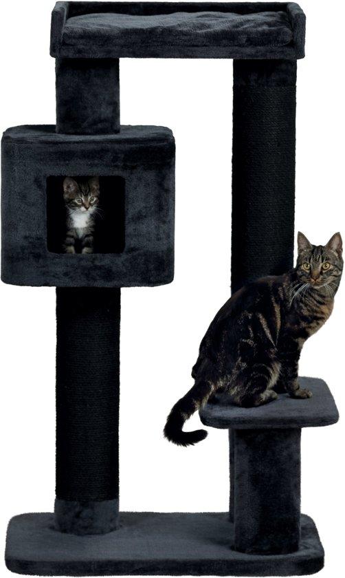 Trixie Krabpaal XXL Izan - Grote katten - Antraciet - 70 x 50 x 122 cm