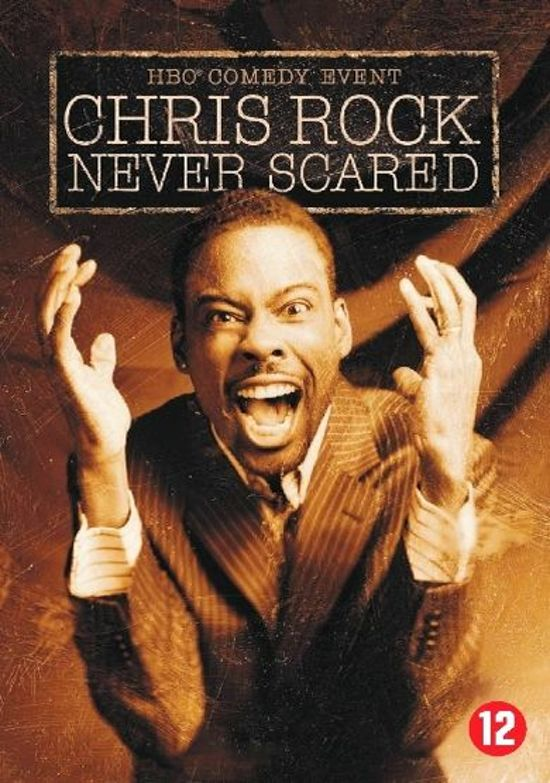 CHRIS ROCK: NEVER SCARED /S DVD NL