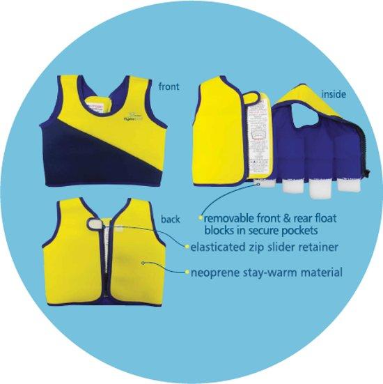 Hydrokids Zwem trainer vest 2-3 jaar