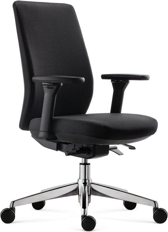 Bureau Stoel Luxe.Bol Com Bens 918cr Synchro 4 Zwart Luxe Ergonomische Bureaustoel