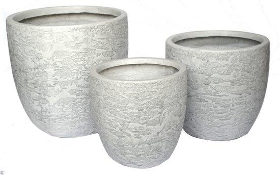 Plantenbak Roman  - Haomei Craft - Set, 3 stuks