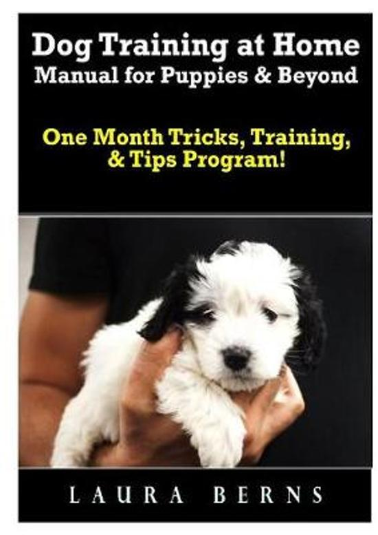 Dog Training at Home Manual for Puppies & Beyond