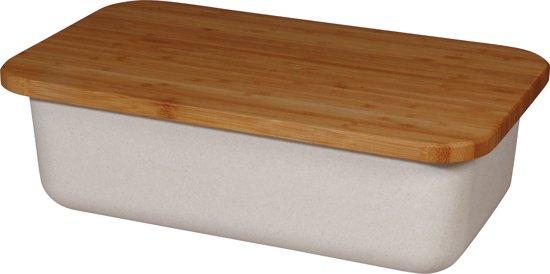 Zuperzozial Save my Bread - Broodbak en Snijplank - Coconut White