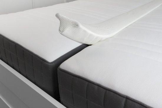 SleepMed Matraswig - Liefdesbrug - Wit - 195x15x10cm