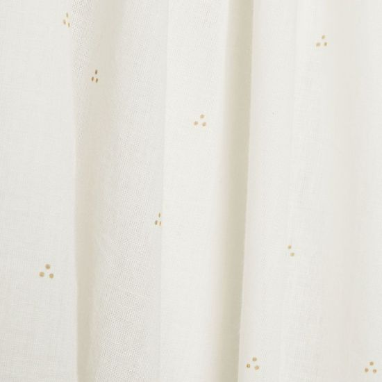 Camcam bedhemel Dot Off-White