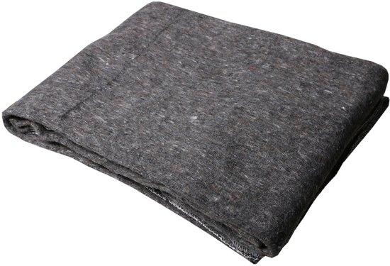 Profipack Verhuisdeken grijs extra lang - 150 x 300cm - per stuk