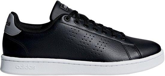 adidas Advantage Sneakers - Maat 39 1/3 - Unisex - zwart/grijs/wit
