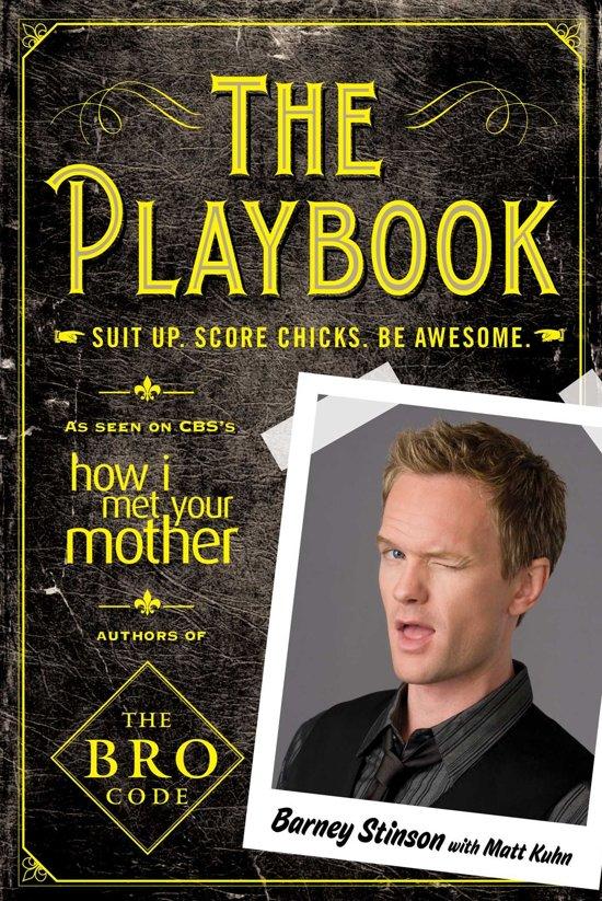 Boek cover The Playbook van Barney Stinson (Onbekend)