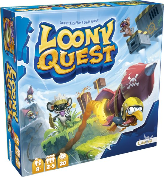 Libellud Loony Quest FR/NL