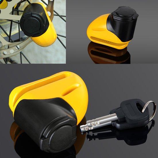 bol.com   Schijfremslot van staal voor motor of fiets, sleutel met ...