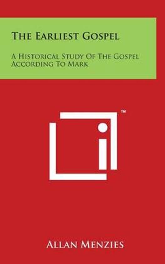 The Earliest Gospel