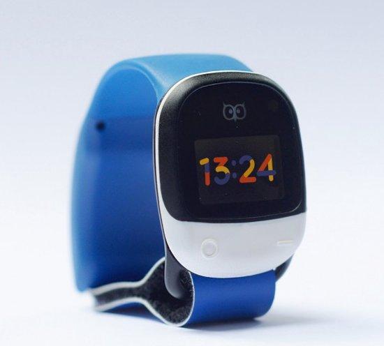 KiGO Blue - waterproof GPS horloge tracker kinderen met Wifi en GSM 2G/3G ingebouwde simkaart