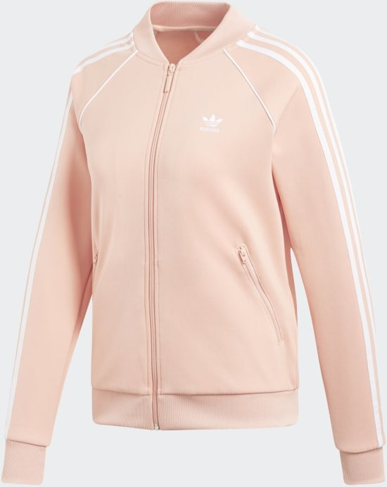 bol.com | adidas Sst Tt Dames Vest - Dust Pink - Maat 36