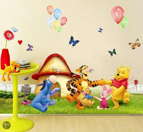 Muursticker Winnie The Pooh.Bol Com Muurstickers Winnie De Pooh
