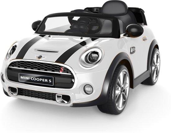 Bol Com Bmw Mini Cooper Wit Elektrische Kinder Accu Auto 6 V Met