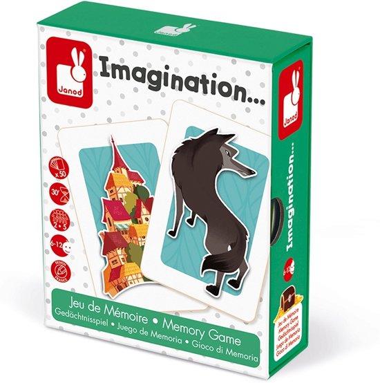 Afbeelding van het spel Janod Spel - geheugenspel - imagination