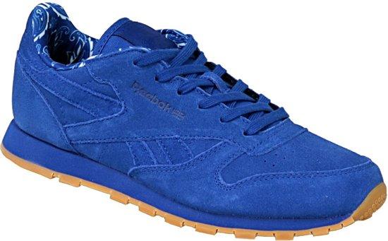 Reebok Classic Leather TDC BD5052, Vrouwen, Blauw, Sneakers maat: 34.5 EU