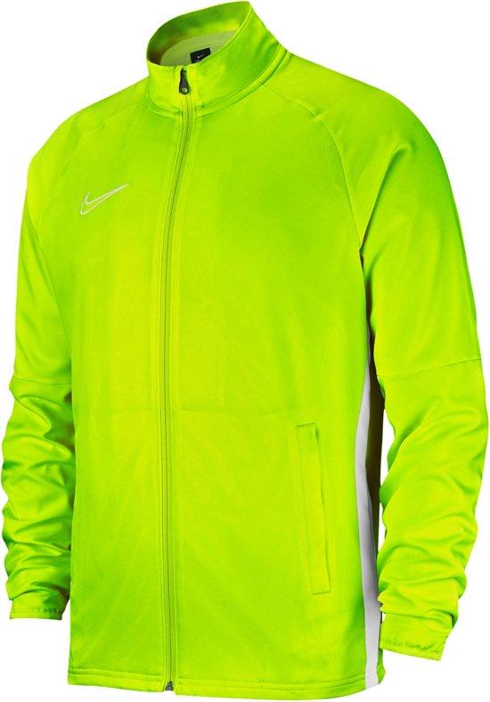 Nike Dry Academy 19 Trainingsjack Heren Sportjas Maat L Mannen geel