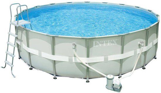 Intex ultra frame pool zwembad 488 x 122 cm for Frame zwembad aanbieding
