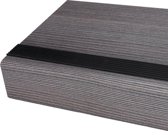 Antislip trap strip zelfklevend - Zwart RAL 9004 - Rol 15 meter