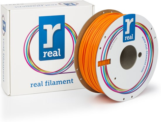 REAL Filament PLA fluoriserend oranje 2.85mm (1kg)
