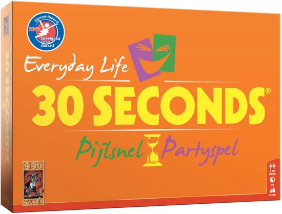 Afbeelding van 30 Seconds Everyday Life - Bordspel speelgoed