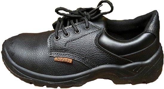Hoge Werkschoenen Met Stalen Neus.Bol Com Veiligheidsschoenen Werkschoenen S1 Met Stalen Neus Maat 43