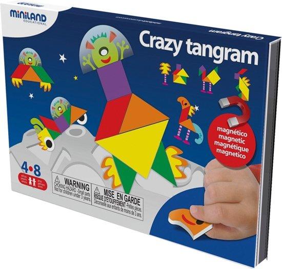 Afbeelding van het spel CRAZY TANGRAM, magnetisch spel voor onderweg
