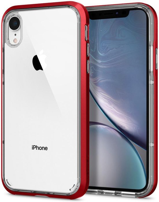 detailed look c5fe8 9086c Spigen iPhone XR Neo Hybrid Crystal Red