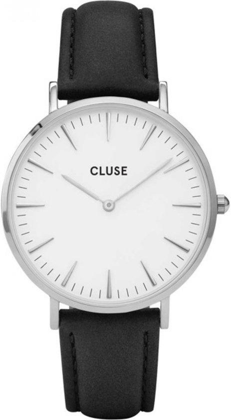 CLUSE CL18208 LA Bohème Silver White Black horloge
