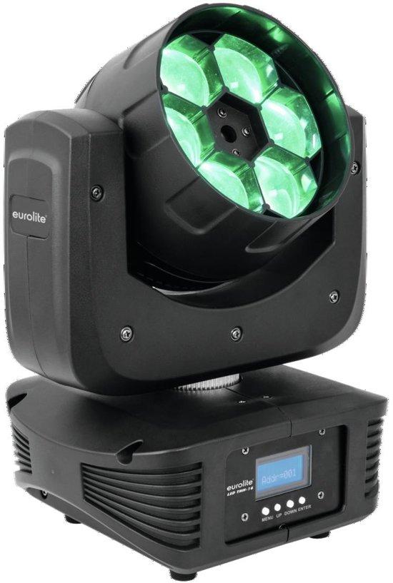 Eurolite TMH-16 Discostroboscoop Zwart Geschikt voor gebruik binnen