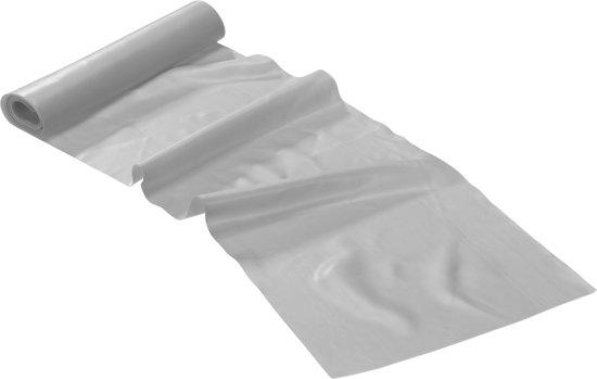 Trendy Sport - Limite Thera band - Weerstandsband - Grijs - Extra Extra Zwaar - 2,5 m lang x 15 cm b x 0.6 mm dik - Trekkracht tot 10 kg