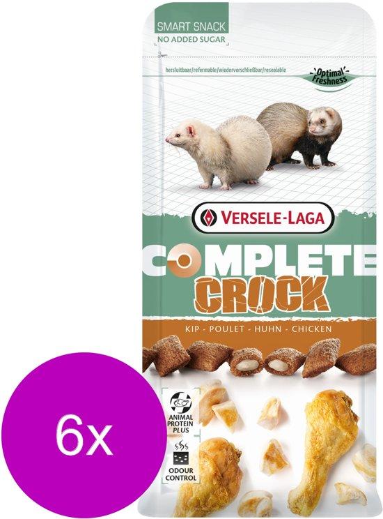 Versele-Laga Complete Crock Chicken - Knaagdiersnack - 6 x Kip 50 g