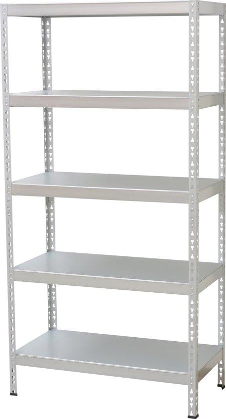 Sem Household Essentials Opbergrek.Sem Household Essentials Opbergrek Standaard Staal 90 X 45 X 180 Cm