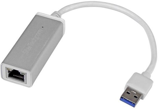 StarTech.com USB 3.0 naar gigabit ethernet netwerkadapter zilver