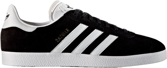 44 Gazelle Metallic Core Maat White Black Sneakers Adidas Gold Heren zw700